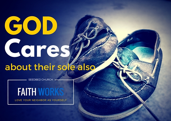 Reach out to the homeless people. Share God's blessing with them.